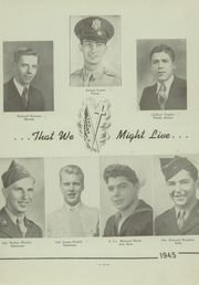 Page 7, 1945 Edition, St Pauls High School - Look Ahead Yearbook (Norwalk, OH) online yearbook collection