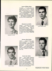 Page 17, 1956 Edition, St Pauls High School - Look Ahead Yearbook (Norwalk, OH) online yearbook collection