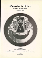 Page 5, 1956 Edition, St Pauls High School - Look Ahead Yearbook (Norwalk, OH) online yearbook collection