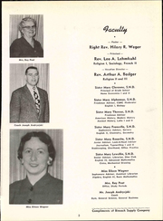 Page 7, 1956 Edition, St Pauls High School - Look Ahead Yearbook (Norwalk, OH) online yearbook collection
