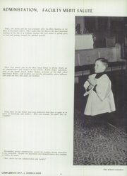 Page 12, 1960 Edition, St Pauls High School - Look Ahead Yearbook (Norwalk, OH) online yearbook collection