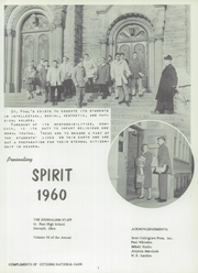 Page 5, 1960 Edition, St Pauls High School - Look Ahead Yearbook (Norwalk, OH) online yearbook collection