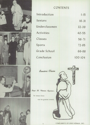 Page 8, 1960 Edition, St Pauls High School - Look Ahead Yearbook (Norwalk, OH) online yearbook collection