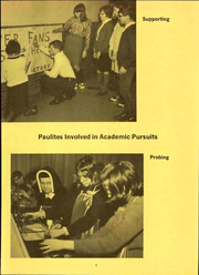Page 9, 1968 Edition, St Pauls High School - Look Ahead Yearbook (Norwalk, OH) online yearbook collection