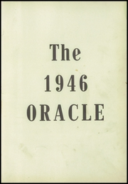 Page 5, 1946 Edition, Ansonia High School - Oracle Yearbook (Ansonia, OH) online yearbook collection