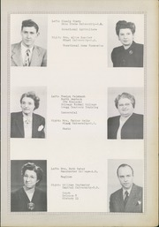 Page 13, 1948 Edition, Ansonia High School - Oracle Yearbook (Ansonia, OH) online yearbook collection