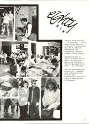 Page 17, 1986 Edition, Lehman High School - Cavalcade Yearbook (Sidney, OH) online yearbook collection