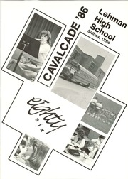 Page 5, 1986 Edition, Lehman High School - Cavalcade Yearbook (Sidney, OH) online yearbook collection