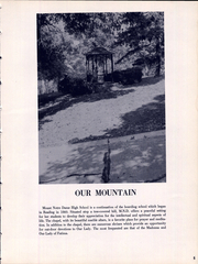 Page 11, 1959 Edition, Mount Notre Dame High School - Mountain Lore Yearbook (Reading, OH) online yearbook collection