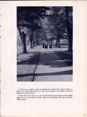 Page 15, 1959 Edition, Mount Notre Dame High School - Mountain Lore Yearbook (Reading, OH) online yearbook collection