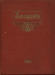 1935 Edition, Our Lady of Angels High School - Amaranth Yearbook (Cincinnati, OH)