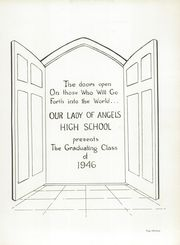 Page 17, 1946 Edition, Our Lady of Angels High School - Amaranth Yearbook (Cincinnati, OH) online yearbook collection