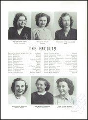 Page 11, 1950 Edition, Our Lady of Angels High School - Amaranth Yearbook (Cincinnati, OH) online yearbook collection