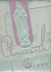 1952 Edition, Our Lady of Angels High School - Amaranth Yearbook (Cincinnati, OH)