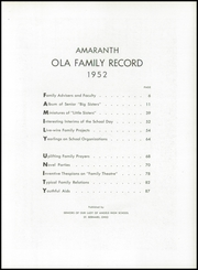 Page 7, 1952 Edition, Our Lady of Angels High School - Amaranth Yearbook (Cincinnati, OH) online yearbook collection