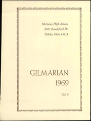 Page 5, 1969 Edition, McAuley High School - Gilmarian Yearbook (Toledo, OH) online yearbook collection