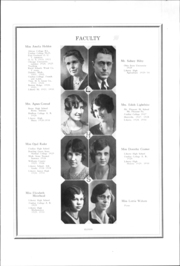 Page 12, 1930 Edition, Liberty Benton High School - Liberty Bell Yearbook (Findlay, OH) online yearbook collection