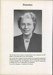 Page 8, 1951 Edition, Liberty Benton High School - Liberty Bell Yearbook (Findlay, OH) online yearbook collection