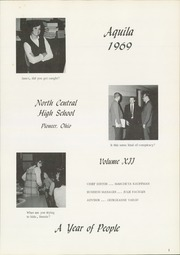 Page 5, 1969 Edition, North Central High School - Aquila Yearbook (Pioneer, OH) online yearbook collection