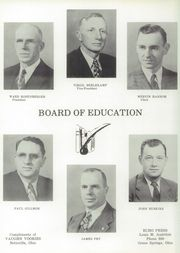 Page 10, 1955 Edition, Old Fort High School - Trail Yearbook (Old Fort, OH) online yearbook collection
