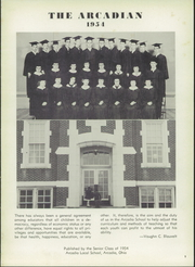 Page 5, 1954 Edition, Arcadia High School - Arcadian Yearbook (Arcadia, OH) online yearbook collection