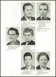 Page 12, 1958 Edition, Continental Palmer High School - Pirate Yearbook (Continental, OH) online yearbook collection