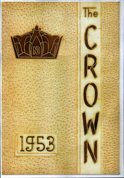 Page 1, 1953 Edition, Notre Dame High School - Crown Yearbook (Portsmouth, OH) online yearbook collection