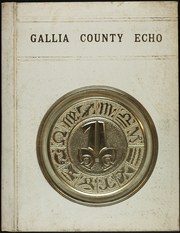 1971 Edition, North Gallia High School - Echo Yearbook (Vinton, OH)