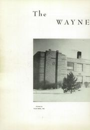 Page 4, 1951 Edition, Waynesfield Goshen High School - Reflections Yearbook (Waynesfield, OH) online yearbook collection