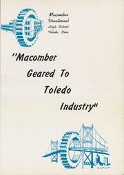 Page 5, 1942 Edition, Macomber Vocational High School - Craftsman Yearbook (Toledo, OH) online yearbook collection