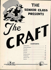 Page 8, 1949 Edition, Macomber Vocational High School - Craftsman Yearbook (Toledo, OH) online yearbook collection