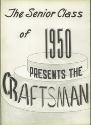 Page 6, 1950 Edition, Macomber Vocational High School - Craftsman Yearbook (Toledo, OH) online yearbook collection