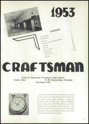 Page 5, 1953 Edition, Macomber Vocational High School - Craftsman Yearbook (Toledo, OH) online yearbook collection