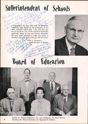 Page 8, 1958 Edition, Macomber Vocational High School - Craftsman Yearbook (Toledo, OH) online yearbook collection