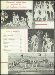 Page 6, 1959 Edition, Macomber Vocational High School - Craftsman Yearbook (Toledo, OH) online yearbook collection