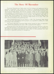 Page 7, 1959 Edition, Macomber Vocational High School - Craftsman Yearbook (Toledo, OH) online yearbook collection