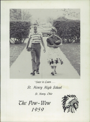 Page 5, 1959 Edition, St Henry High School - Pow Wow Yearbook (St Henry, OH) online yearbook collection
