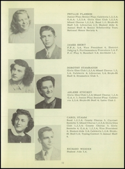 Page 17, 1949 Edition, Stryker High School - Panthian Yearbook (Stryker, OH) online yearbook collection