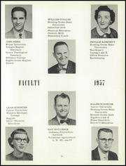 Page 9, 1957 Edition, Stryker High School - Panthian Yearbook (Stryker, OH) online yearbook collection