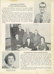 Page 13, 1954 Edition, Washington High School - Senatorian Yearbook (West Portsmouth, OH) online yearbook collection