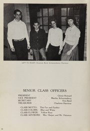 Page 16, 1956 Edition, Washington High School - Senatorian Yearbook (West Portsmouth, OH) online yearbook collection