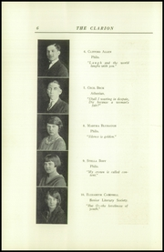 Page 10, 1925 Edition, Danville High School - Clarion Yearbook (Danville, OH) online yearbook collection