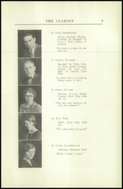 Page 13, 1925 Edition, Danville High School - Clarion Yearbook (Danville, OH) online yearbook collection