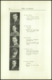 Page 14, 1925 Edition, Danville High School - Clarion Yearbook (Danville, OH) online yearbook collection