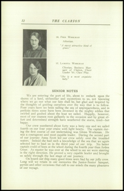 Page 16, 1925 Edition, Danville High School - Clarion Yearbook (Danville, OH) online yearbook collection