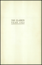 Page 5, 1925 Edition, Danville High School - Clarion Yearbook (Danville, OH) online yearbook collection