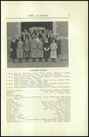Page 7, 1925 Edition, Danville High School - Clarion Yearbook (Danville, OH) online yearbook collection