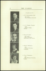 Page 8, 1925 Edition, Danville High School - Clarion Yearbook (Danville, OH) online yearbook collection