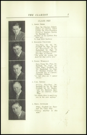 Page 9, 1925 Edition, Danville High School - Clarion Yearbook (Danville, OH) online yearbook collection