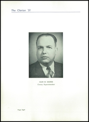 Page 12, 1951 Edition, Danville High School - Clarion Yearbook (Danville, OH) online yearbook collection